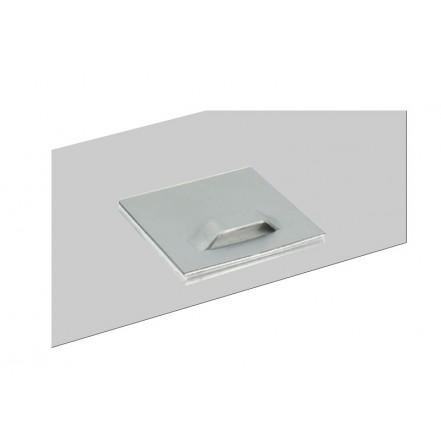 Fotodruck auf Aluminiumschild Silber Matt