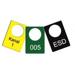 Kunststoffmarken 30 x 42,5 mm