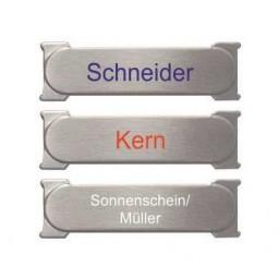 Edelstahl Renz Schilder RSA1 mit farbiger Schrift
