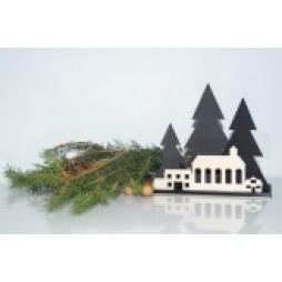 Weihnachtslandschaft aus Arcyl