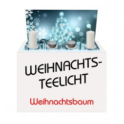 Weihnachts-Teelicht Tannenbaum